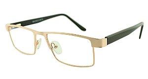 Armação para Óculos de Grau Masculino H30 Dourada