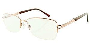 Armação para Óculos de Grau Unissex H01 Cobre