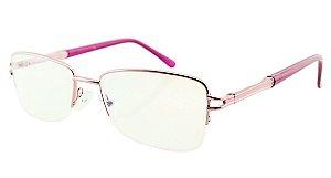 Armação para Óculos de Grau Unissex H01 Rosa