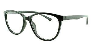 Armação para Óculos de Grau Feminino 39 Preta