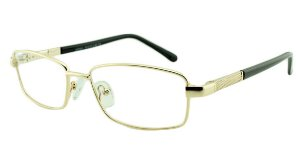 Armação para Óculos de Grau Masculino M2501 Dourada