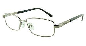 Armação para Óculos de Grau Masculino M2501 Prata