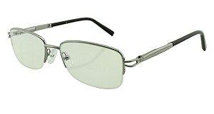 Armação para Óculos de Grau Unissex H03 Prata