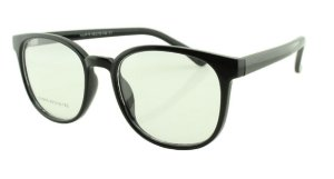 Armação para Óculos de Grau Unissex 16A Preta