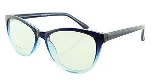Armação para Óculos de Grau Feminino 06 Azul