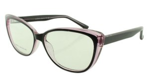 Armação para Óculos de Grau Feminino 315A Preta e Lilás