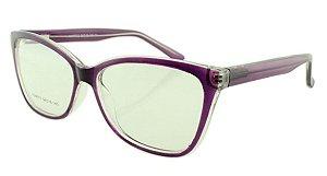 Armação para Óculos de Grau Feminino 313 Roxa
