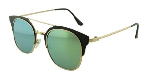 Óculos Solar Feminino Sortido NY9002 Verde Espelhado
