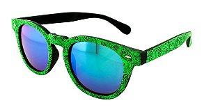 Óculos Solar Unissex NY9117 Verde Espelhado