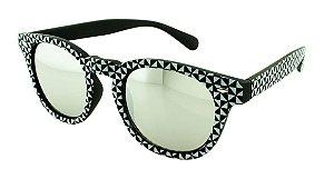 Óculos Solar Unissex NY9117 Prata Espelhado