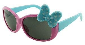 Óculos Solar Infantil XM120 Rosa e Azul