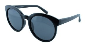 Óculos Solar Infantil Polarizado em Nylon Flexível T1655 Preto