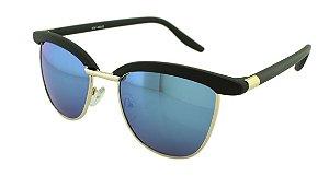 Óculos Solar Feminino Sortido NY40353 Azul Espelhado