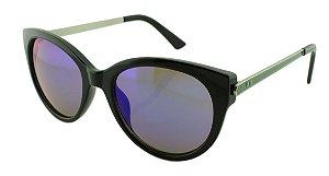 Óculos Solar Feminino Sortidos NY9083 Azul Espelhado