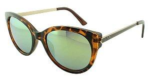 Óculos Solar Feminino Sortidos NY9083 Verde Espelhado