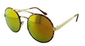 Óculos Solar Unissex Sortido NY9102 Laranja Espelhado