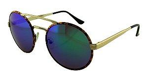 Óculos Solar Unissex Sortido NY9102 Verde Espelhado