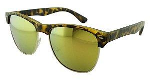 Óculos Solar Feminino NY40359 Verde Espelhado