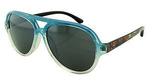 Óculos Solar Infantil MY1606 Azul Degradê