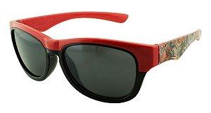 Óculos Solar Infantil MY1625 Preto e Vermelho