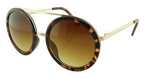 Óculos Solar Feminino SRH4074S Marrom Onça