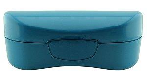Estojo para Óculos Solar com Forro Flocado ECL02 Azul