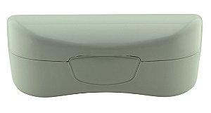 Estojo para Óculos Solar com Forro Flocado ECL02 Branco