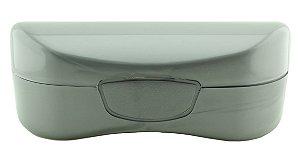 Estojo para Óculos Solar com Forro Flocado ECL02 Cinza