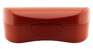 Estojo para Óculos Solar com Forro Flocado ECL02 Vermelho