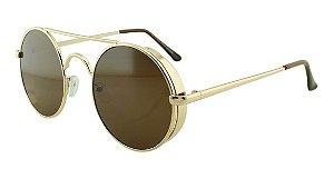 Óculos Solar Unissex Primeira Linha YL610006 Marrom