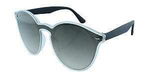 Óculos Solar Unissex B881400 Transparente Espelhado