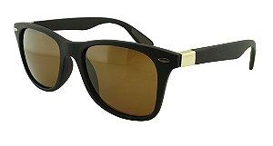 Óculos Solar Unissex Primeira Linha Polarizado 18002AZ Marrom