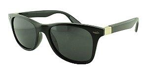 Óculos Solar Unissex Primeira Linha Polarizado 18002AZ Preto