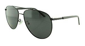 Óculos Solar Masculino Primeira Linha Polarizado P1043 Preto