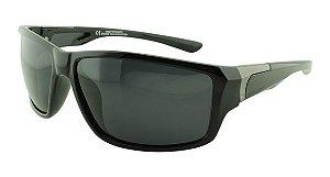 Óculos Solar Masculino Polarizado P04455 Preto