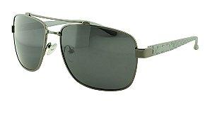 Óculos Solar Masculino Primeira Linha Polarizado P1002 Grafite