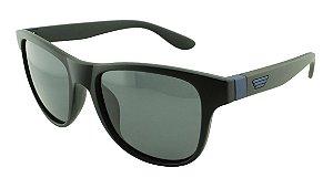 Óculos Solar Unissex Primeira Linha Polarizado P6039 Preto