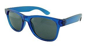 Óculos Solar para Brinde Unissex 740 Azul Translúcido (SOB ENCOMENDA)
