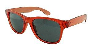 Óculos Solar para Brinde Unissex 740 Vermelho Translúcido (SOB ENCOMENDA)