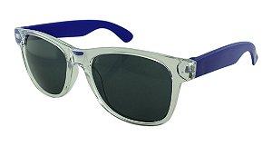 Óculos Solar para Brinde Unissex 743S Transparente com Azul Escuro (SOB ENCOMENDA)