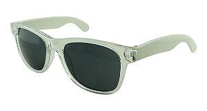 Óculos Solar para Brinde Unissex 743S Transparente com Branco (SOB ENCOMENDA)