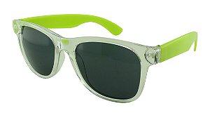 Óculos Solar para Brinde Unissex 743S Transparente com Verde Claro (SOB ENCOMENDA)