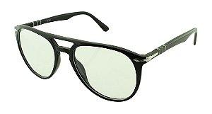 Armação para Óculos de Grau Unissex MP3785 Preta
