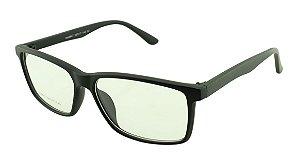 Armação para Óculos de Grau Masculino 47 Preta