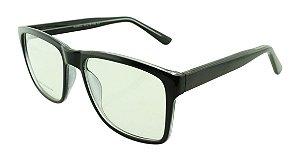 Armação para Óculos de Grau Unissex 53 Preta