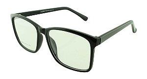 Armação para Óculos de Grau Masculino 52 Preta
