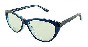 Armação para Óculos de Grau Feminino 04A Azul