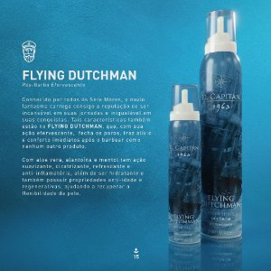 Pós barba Flying Dutchman 350ml El Capitán