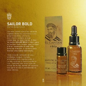 Óleo Sailor Bold 30ml El Capitán