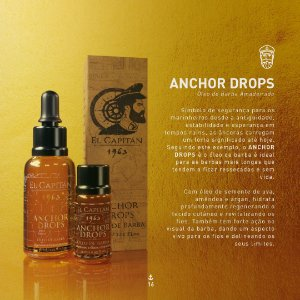 Óleo Anchor Drops 10ml El Capitán